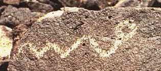 Albuquerque petroglyph