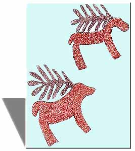 Paspardo Iron Age deers (Jessica, 8 years)