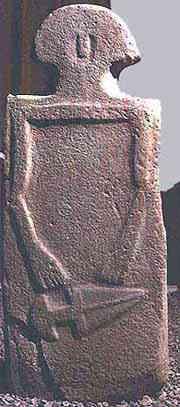 Copper Age stele