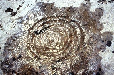 Alta Moriana, Arcelle Neuve (F), incisione a spirale