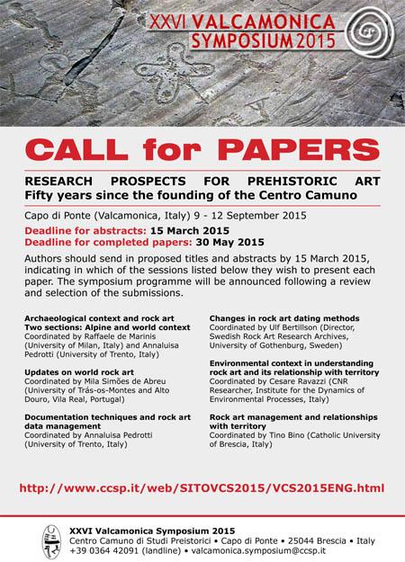 Valcamonica Symposium 2015 poster