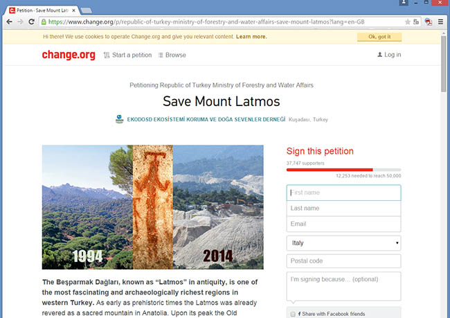 Latmos_petition