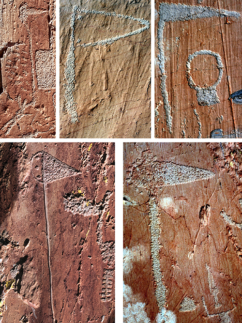 Mt. Bego petroglyphic complex, Copper and Bronze Age halberd figures