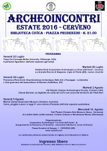 Archeoincontri Cerveno Estate 2016