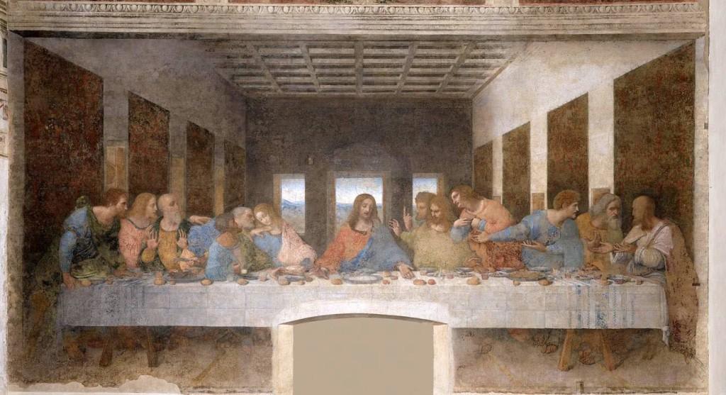 Fig. 3Fig. 3 Cenacolo vinciano (Immagine tratta da: http://www.leonardoamilano.org/images/imgcenacolo_header.jpg