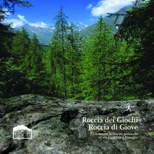 Roccia dei Giochi, Roccia di Giove, la copertina del volume pubblicato nel 2016