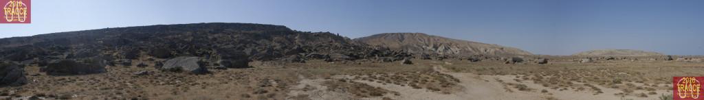 Panoramic view of Böyük Daş