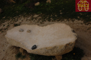 Fig. 26. Gavaldaş, or sounding stone. it is supposed that these stones were used as drums
