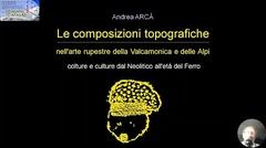 Le composizioni topografiche: colture e culture dal Neolitico all'età del Ferro