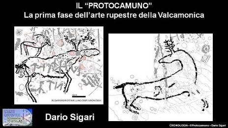 Il Protocamuno, prima fase dell'arte rupestre della Valcamonica